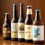 限定クラフトビールや世界のビールが種類豊富にそろってます