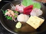 さくらコース、特選海鮮お刺身の例