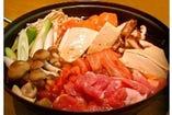 キムチ鍋 コース(4名様より) ★サムギョプサル 付き