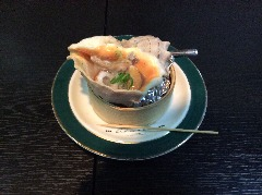 大貝のつぼ焼(屋台より…)