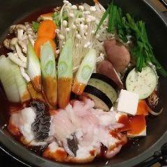 ホルモン鍋(うどん付)