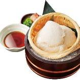 冷やし手作り豆富~こだわりのつゆと沖縄県産平釜塩を添えて~