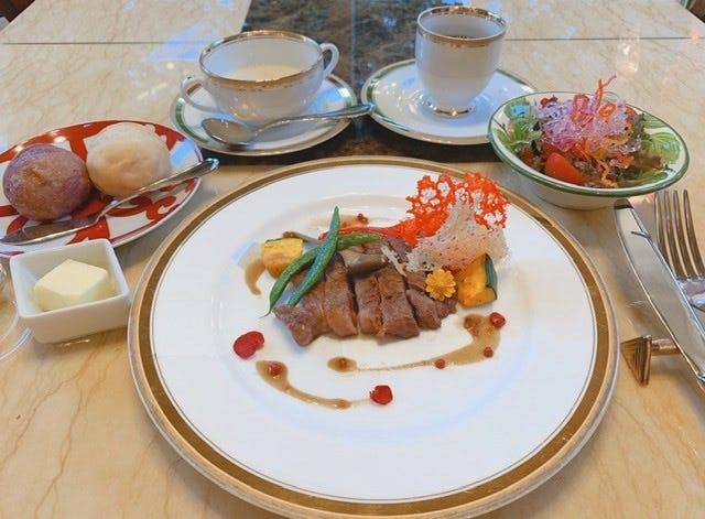 【ランチ・ネット予約限定】伊豆野菜とあしたか牛ステーキセット