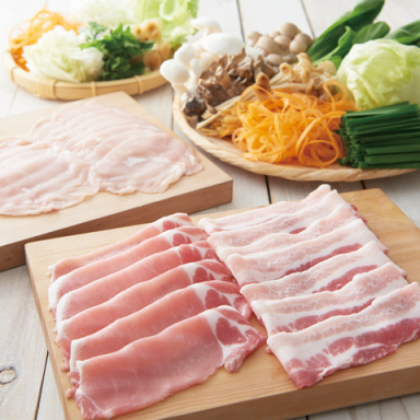 しゃぶしゃぶ温野菜 魚津店 コースの画像