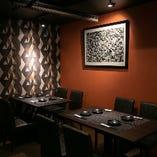 【テーブル半個室/12名様まで】店内奥のプライベート空間!接待や会社宴会に最適