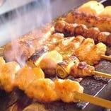 菜彩鶏の串焼!
