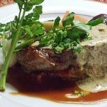 E.本日の肉料理