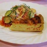 キッシュ・ランチ・・・《軽いお料理で春陽亭の雰囲気を楽しみたい方にオススメ》