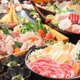 ご宴会におすすめの旬の幸満載の海鮮などをご用意しています