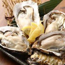 【3月限定】生牡蠣130円→100円
