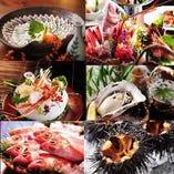 新潟/佐渡の旬の食材を毎日仕入れをしております。