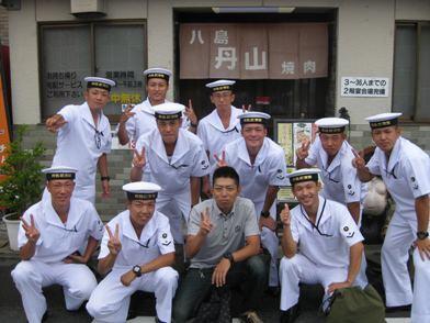代々受け継がれる海上自衛隊員の常連の皆様方☆彡