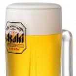 樽生アサヒスーパードライ/生ビール(中)