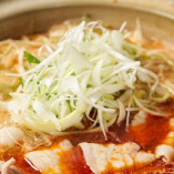 旨味たっぷりのお鍋は、〆の麺まで楽しめます♪