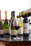 ワインを始め多彩なドリンクをご用意しております。