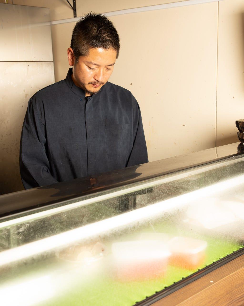 店主松田氏が手がける創作和食とお酒
