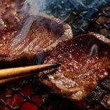 店主得意料理の『厚切り牛タン焼き』