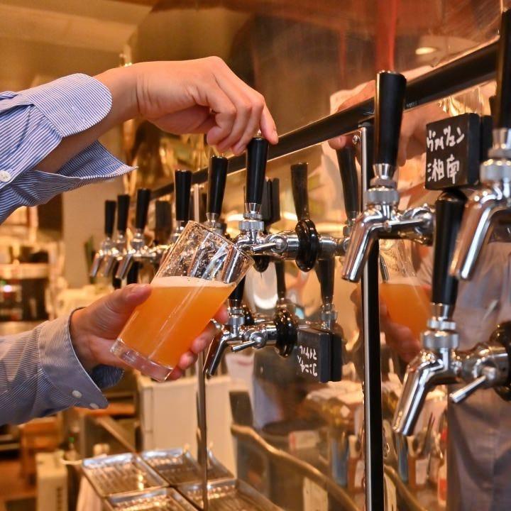 生樽から注ぐ魅惑のクラフトビール