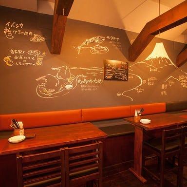 樽生クラフトビールと地酒 静岡バール丸々 御徒町店 店内の画像