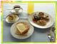 クロックムッシュの朝食セット