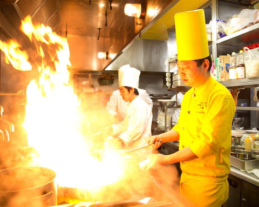 中国料理世界チャンピオン在籍!!一切妥協なしの本場味を食べ放題