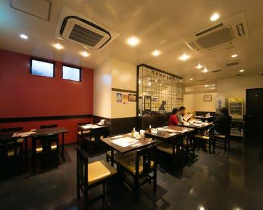 横浜中華街 皇朝 オーダー式食べ放題  店内の画像