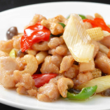 鶏肉とカシューナッツ炒め