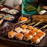【比内地鶏三昧】ご宴席プラン 焼き鳥とお鍋でご堪能◎