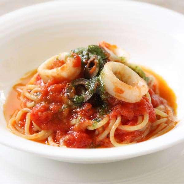 ランチ一番人気のもちもち生麺パスタ