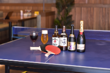 店内で卓球が楽しめる!?
