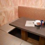 プライベート感ある寛ぎの完全個室|5名様(2部屋)