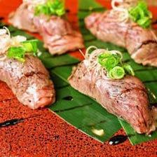 厳選肉を使用した逸品料理も充実