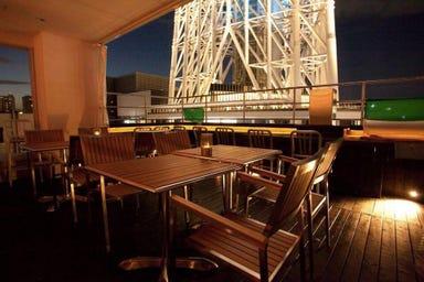 Piccole Lampare & rooftop sky bar  店内の画像