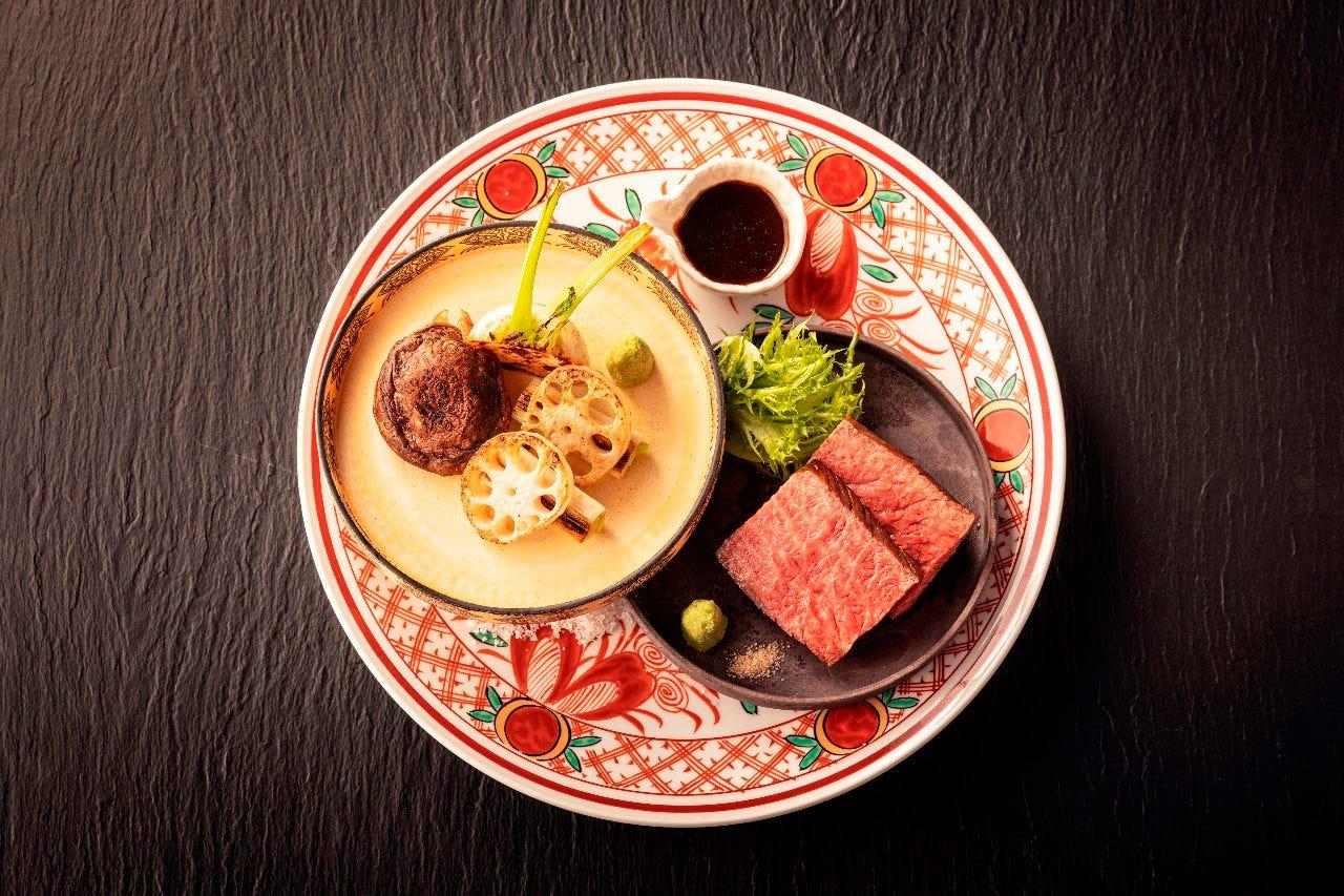 九谷焼の美しい器と料理の調和