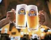 ビールで乾杯♪♪