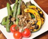 季節野菜のオーブン焼き