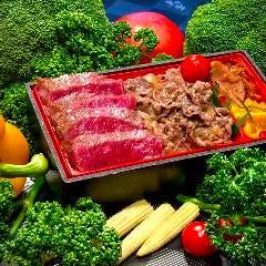 兵庫県産黒毛和牛ステーキ&肉めし重