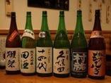 日本酒は日替わりでメニューがかわります!