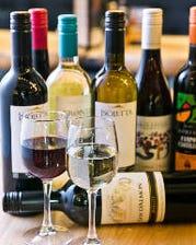 豊富なワインにうっとり♪