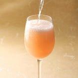 洋梨のスパークリングワイン