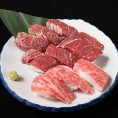 肉寿司盛り合わせ