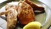 中札内田舎鶏半身焼き