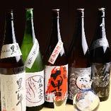 近畿エリアより厳選した地酒5種