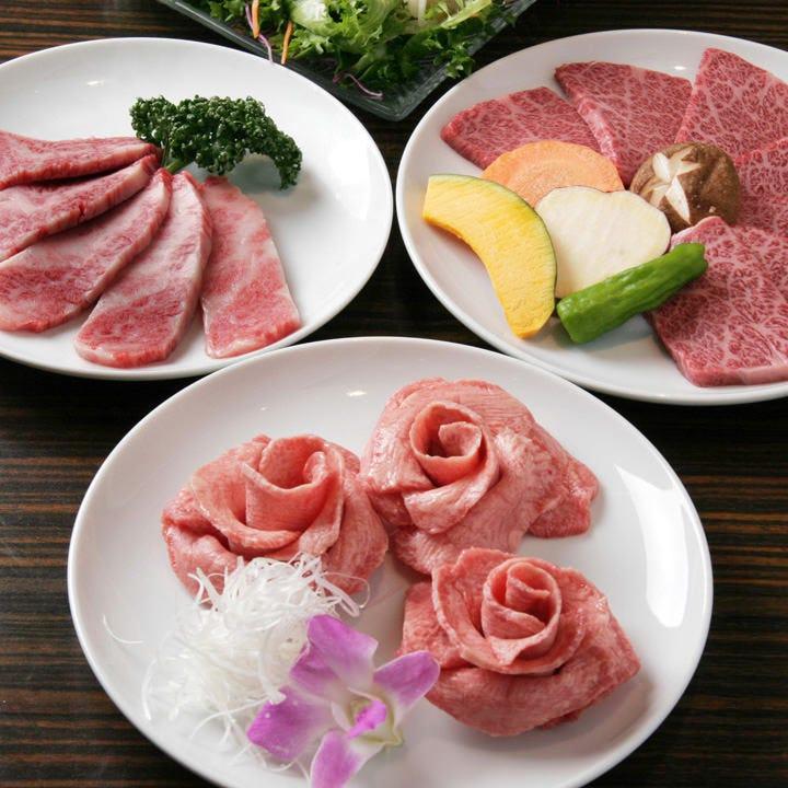 ご家族連れでの焼肉には、リーズナブルな焼肉セットがオススメ