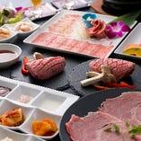 最高級A5ランク黒毛和牛「肩ロースリブ芯側」を味わう『焼肉宴会コース』
