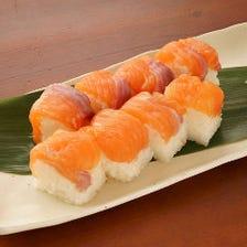 サーモンの棒寿司