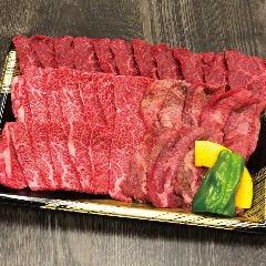 おすすめ3種肉盛り【要前日予約】