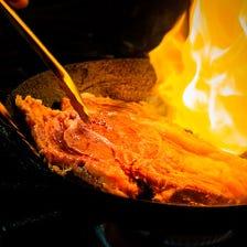 ステーキに閉じ込めた甘味のある肉汁