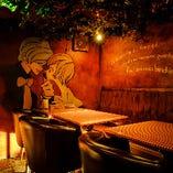 ビジネスの会食にも合コンやママ会にも適したテーブル個室(5〜7名様)