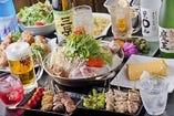 伝蔵の贅沢5,000円コース ≪お料理内容9品+飲み放題付き≫